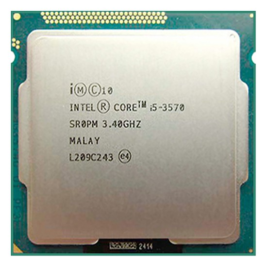 CPU CORE I5 3570 TRAY